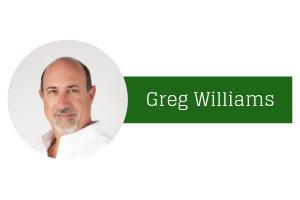 Greg Williams presenting